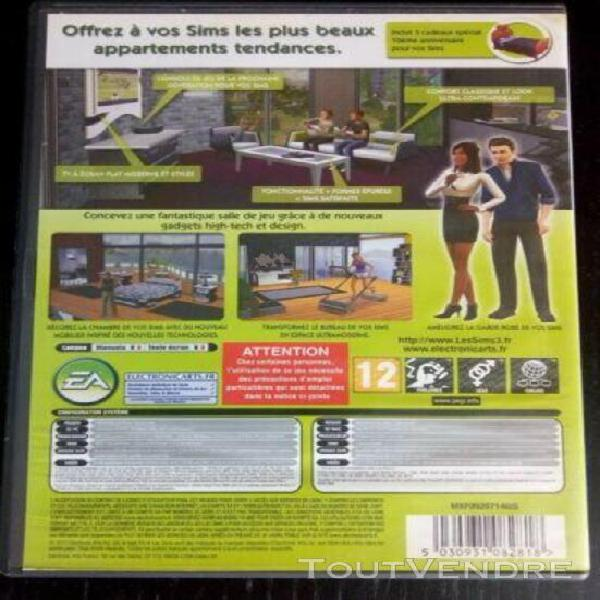 Jeux pc les sims 3 inspiration loft kit*