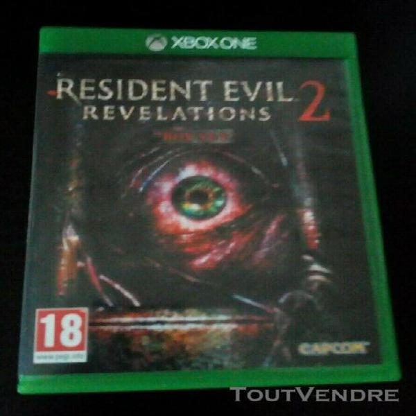 Resident evil revelations 2 / jeu xbox one - en bon état /