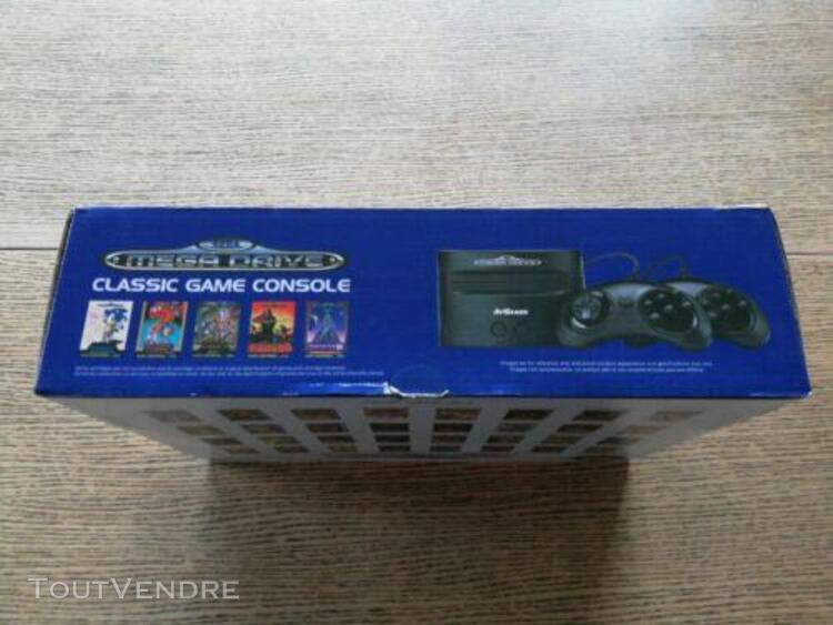 Sega mega drive - classic game console - 81 jeux inclus - 2
