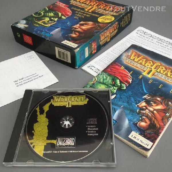 Warcraft ii tides of darkness big box version mac / fr