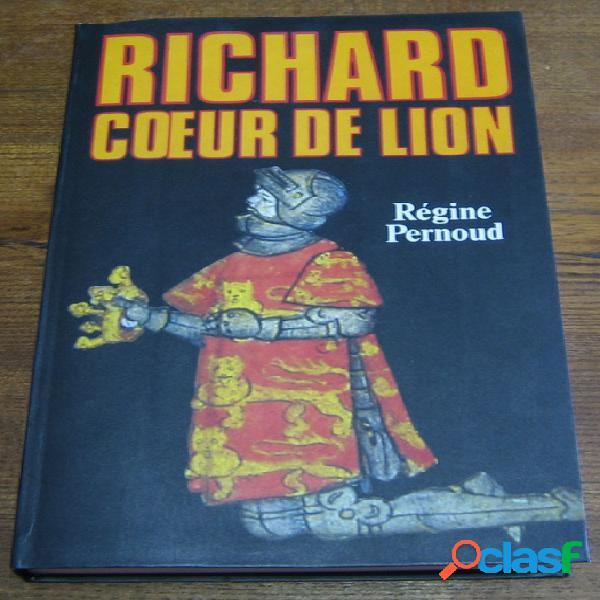 Richard cœur de lion, régine pernoud