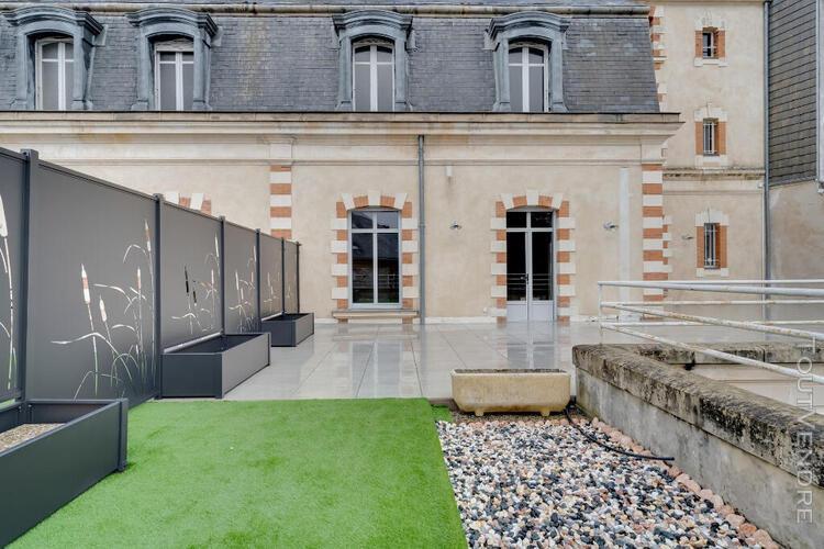 Appartement de prestige avec terrasse en hypercentre