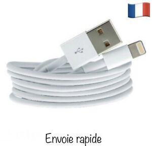 Câble chargeur apple iphone ipad airpods original usb