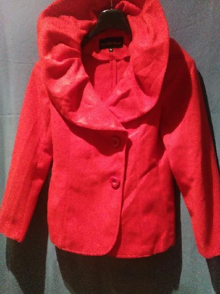 chaqueton rojo exclusivo