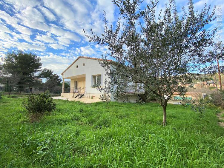 Villa type 4 avec grand terrain