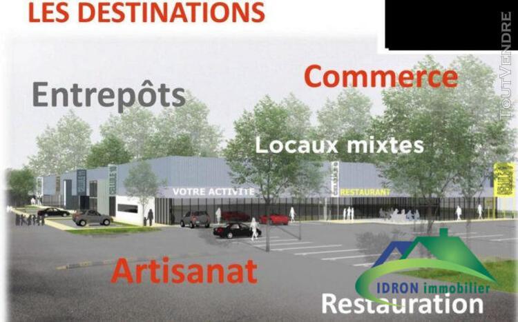 A louer entrepôt neuf pau 1000 m2