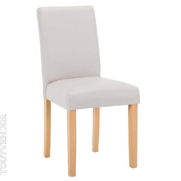 cardiff - chaise gris clair
