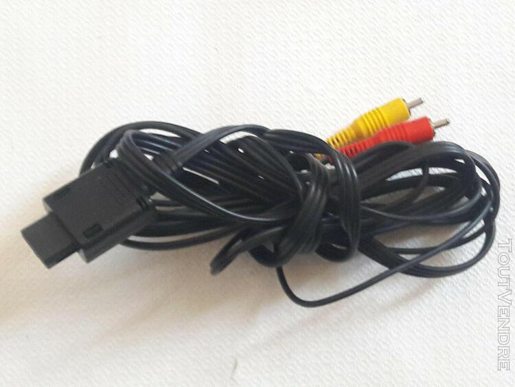 Câble péritel rca av officiel - nintendo 64 - gamecube -