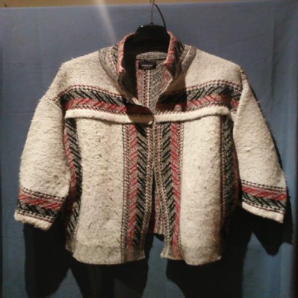 chaqueton lana moda parisina