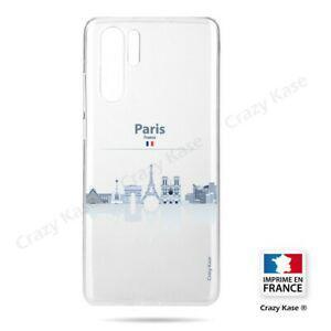 coque compatible huawei p30 pro souple monuments de paris -
