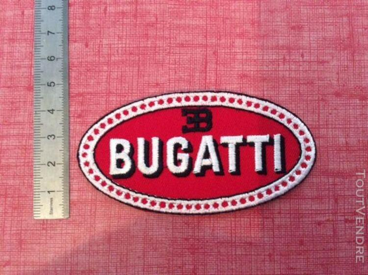 ecusson patch bugatti