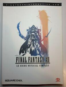 guide officiel final fantasy xii