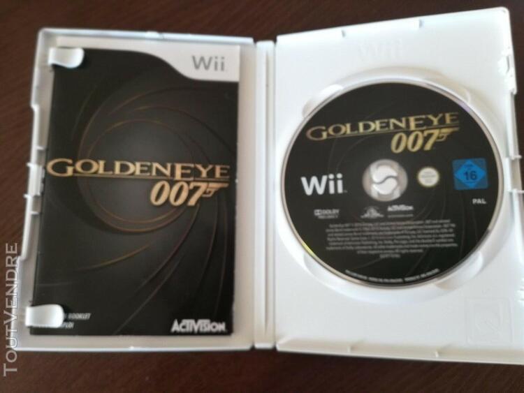 Jeu goldeneye 007 avec notice nintendo wii/ wii u pal fr dan