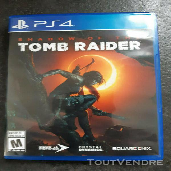 Jeu playstation 4 shadow of the tomb raider