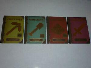 Lot 4 livres minecraft officiel série complète édition