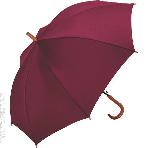 parapluie standard automatique - fp1132 - rouge bordeau