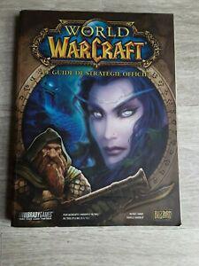 Pc world of warcraft le guide officiel version fr etat tbe