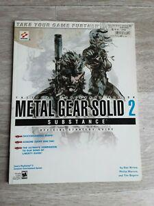 playstation 2 guide official metal gear solid 2 substance