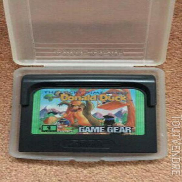 Raaaare donald duck the luck dime caper game gear vintage vi