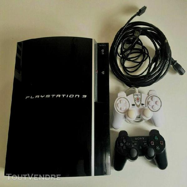 Sony playstation 3 80go console - noire