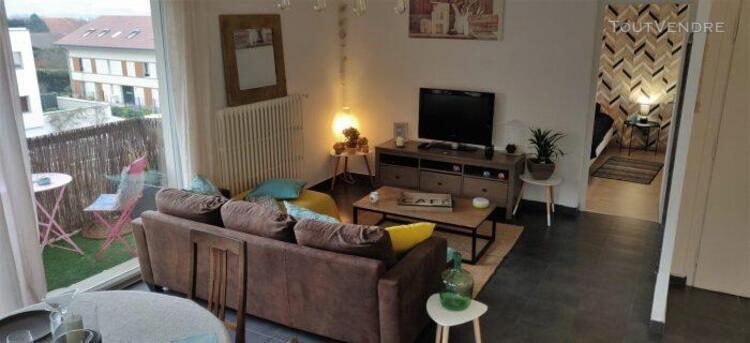 très bel appartement cosy et lumineux proche frontière