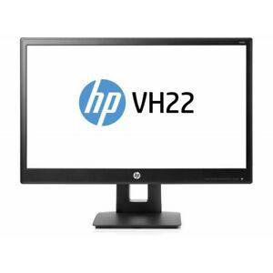 """Hp vh22 écran plat de pc 54,6 cm (21.5"""") full hd led noir"""