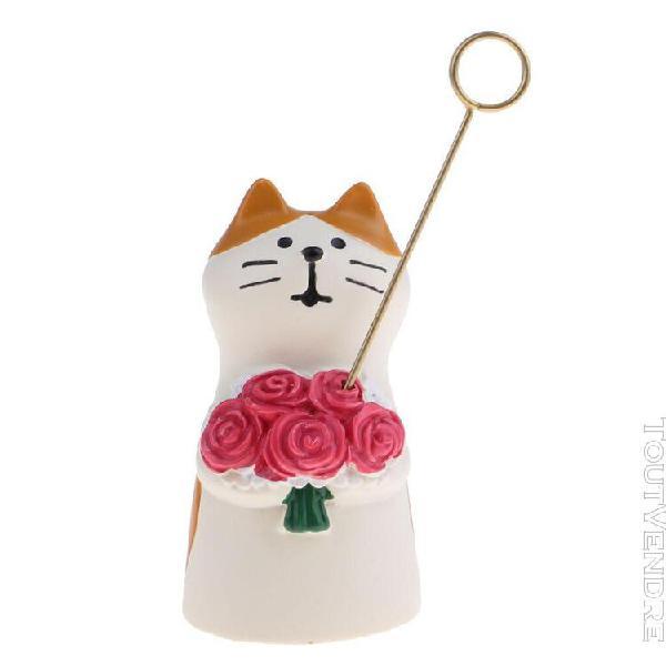 1/12 scale miniature chat avec fleur meubles de maison de po