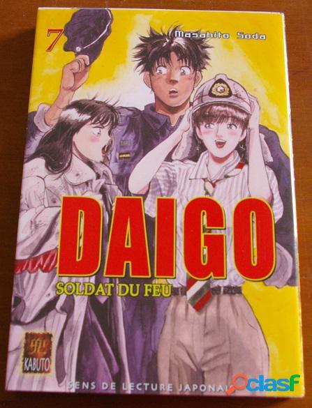 Daigo soldat du feu n°7, masahito soda