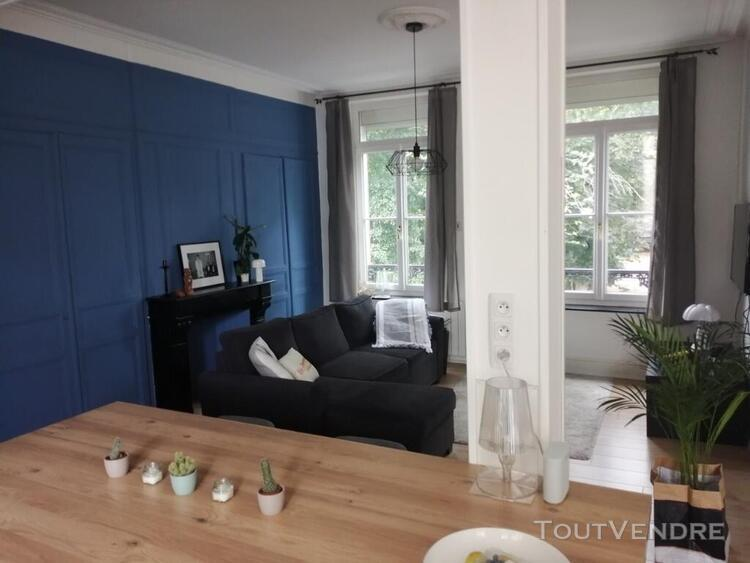 Appartement 2 pieces meuble - place philippe girard