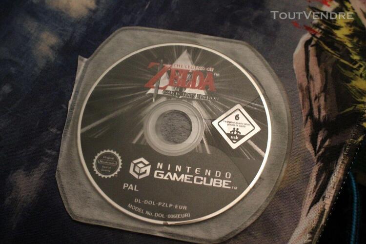 Cd zelda collector's edition gamecube français (4 jeux + 1