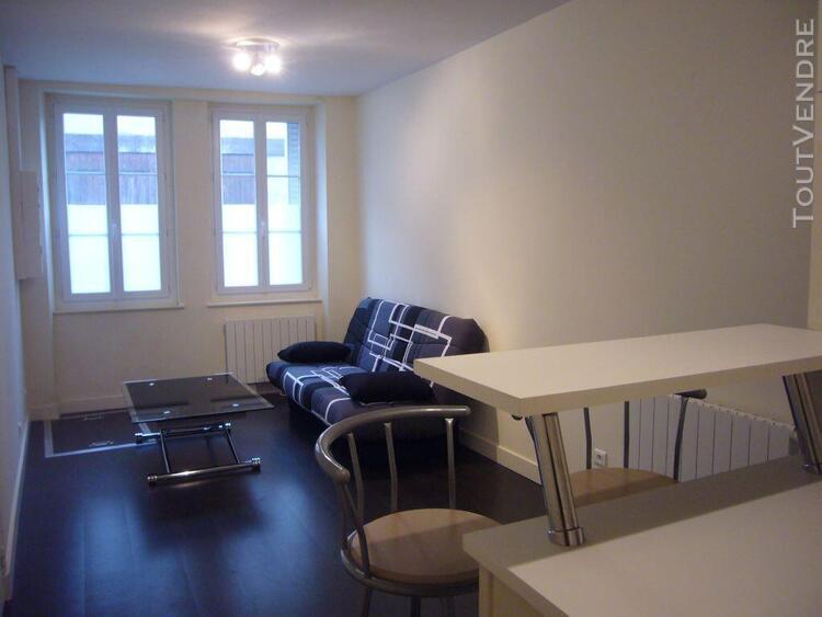 Studio meublé, tournus centre ville