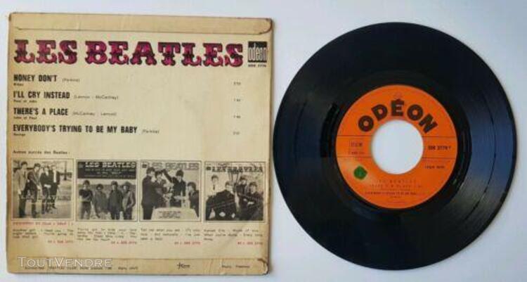 "Beatles honey don't odeon soe 3779 vinyl 7"" ep 45t"