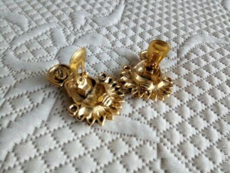 Boucles d'oreilles clips anica occasion