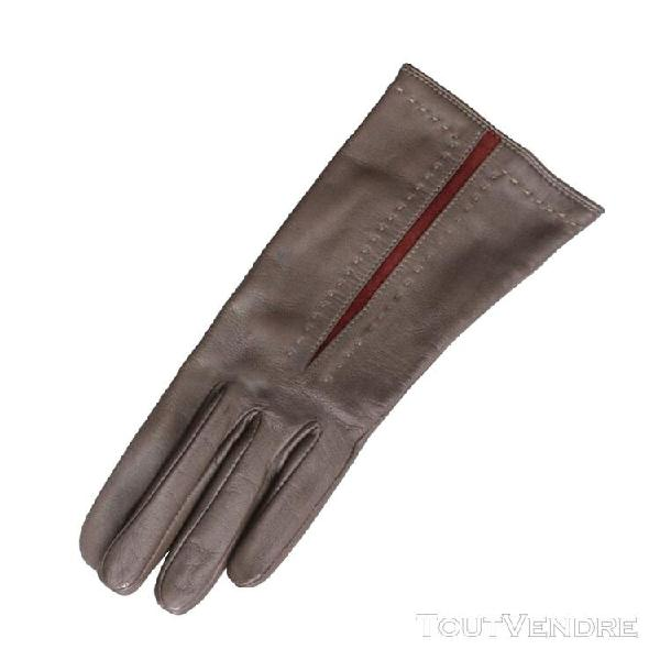 Eastern counties leather - gants rouge pour femme (marron fo