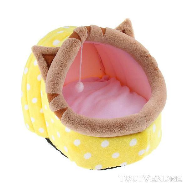 lit coussin de chien en coton lavable coussin nid de chien c