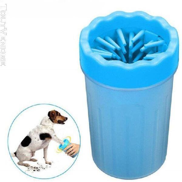 nettoyeur de patte de chien portable, brosse de nettoyage po