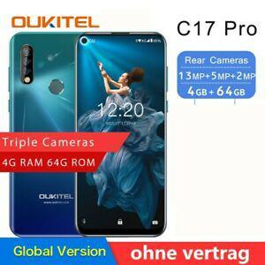 Oukitel c17 pro 6.35'' 4+64gb smartphone face id