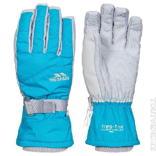 Trespass - gants vizza ii pour femme (bleu marine) - uttp441