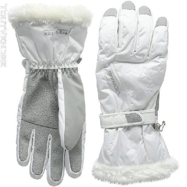 Trespass - gants yani - femme (blanc) - uttp4484