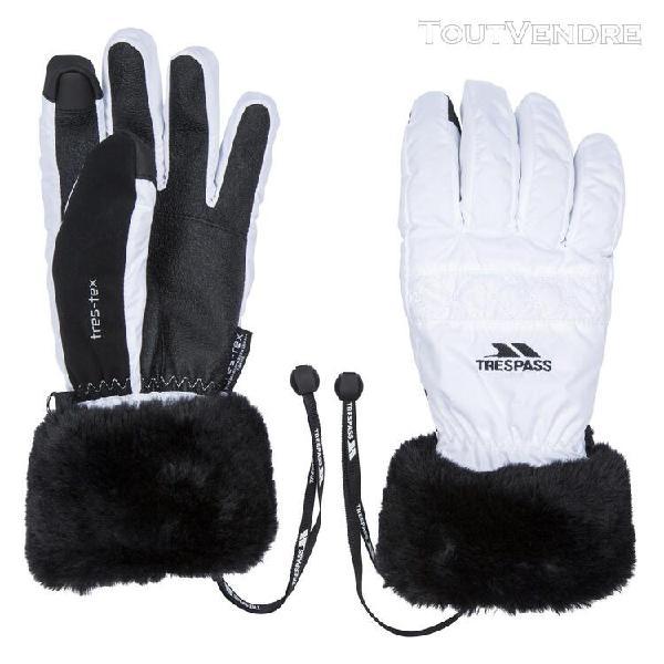 Trespass - gants yanki pour femme (blanc) - uttp4575
