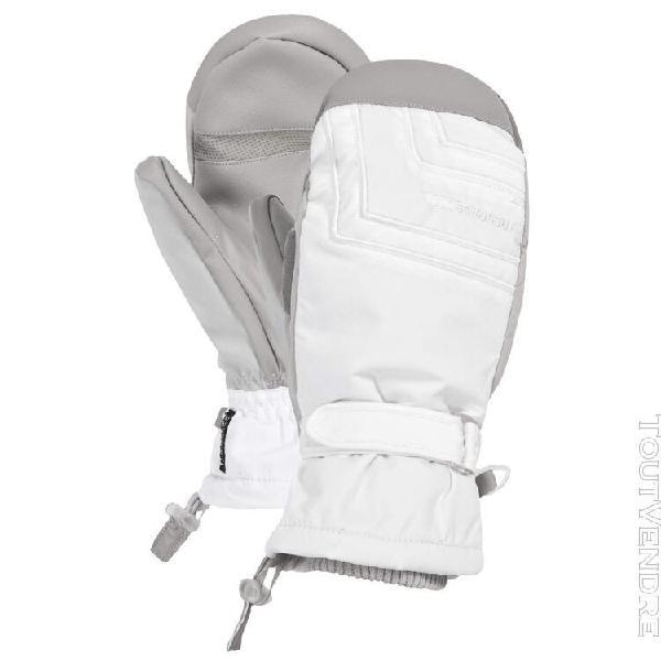 Trespass getter - moufles de ski - femme (blanc) - uttp682