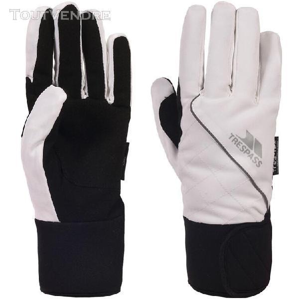 Trespass whiprey - gants imperméables - femme (blanc) -