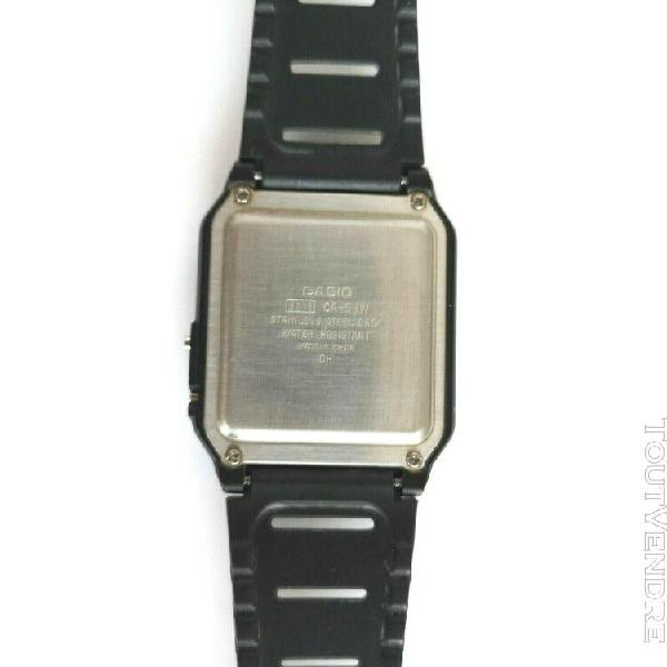 Vintage 80's montre casio wr ca-53w - 3208 *homme*
