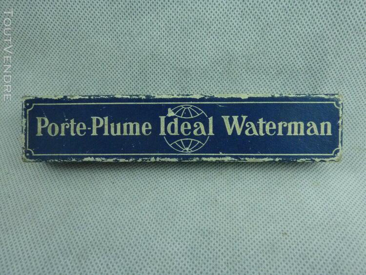 "Vintage waterman ""ideal"" 52 fountain pen bchr plume n°2 191"