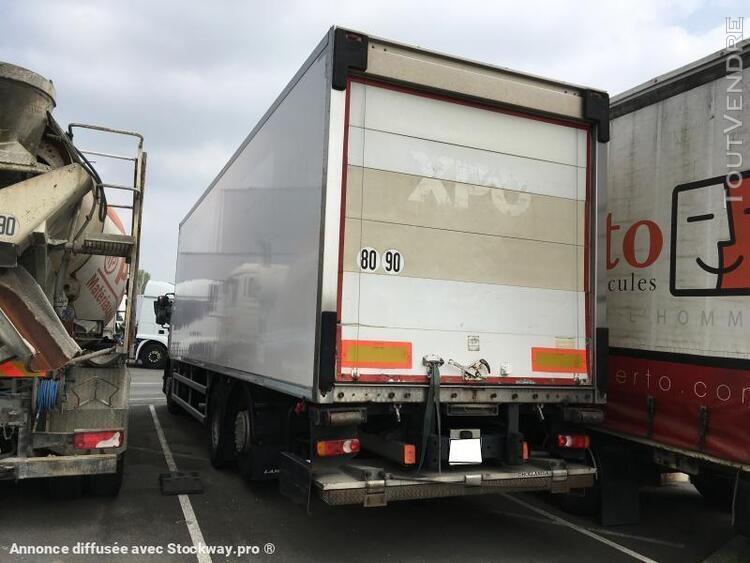 camion (ptac > 3,5 t) fourgon à température dirigée