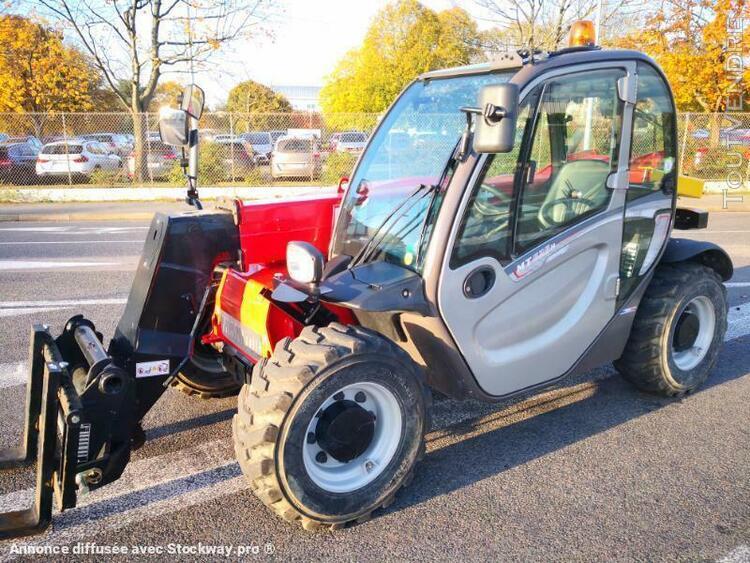 chariot à bras télescopique standard - manitou mt625h