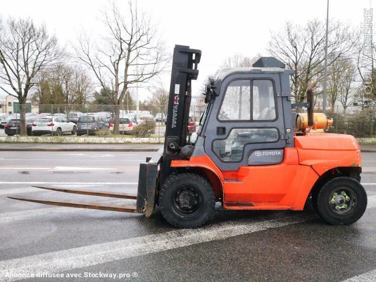 chariot élévateur (frontal) standard - toyota 7fgu60