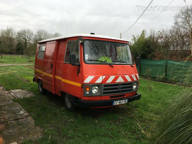 peugeot j9 essence 2.0 75 cv 5 vitesses vasp ambulance