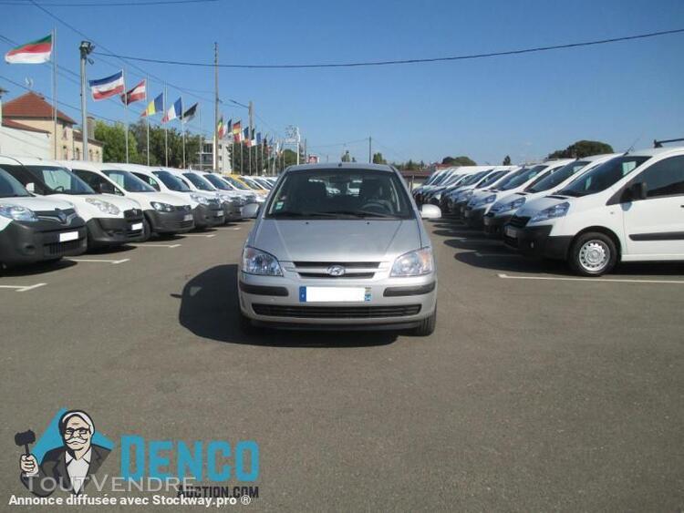voiture particulière voiture citadine - hyundai getz 1.5