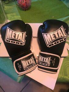Gants boxe sac taille 10 metal boxe (très peu servi)